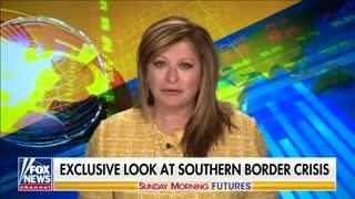 Maria Bartiromo tours southern border with Texas Gov. Abbott