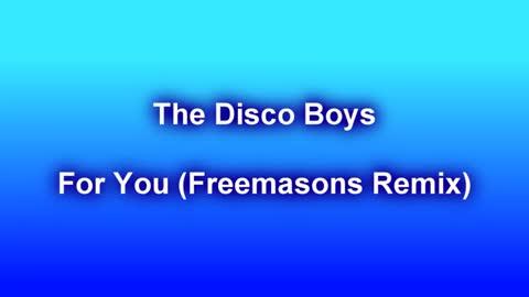 The Disco Boys - For You