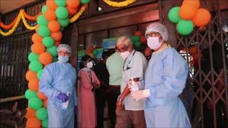"""India emprende """"la mayor campaña de vacunación del mundo"""" contra la covid-19"""