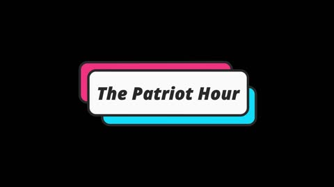 🚨The Patriot Hour Live Show [Wed Edition]
