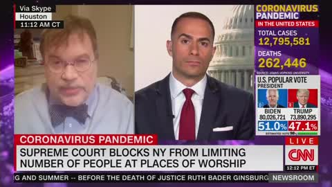 This is CNN: Labels SCOTUS Ruling on Churches as 'Absolutely Crazy'
