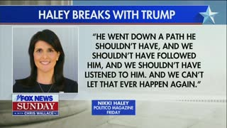 Lindsey Graham Says Nikki Haley Is 'Wrong' About Trump