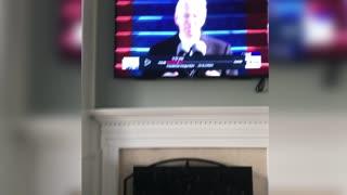 Barack Obama Caught Sleeping During Biden's Spiel
