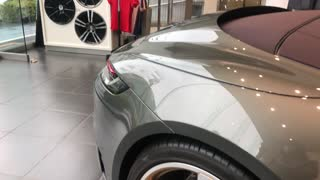 New Porsche in Tokyo Japan