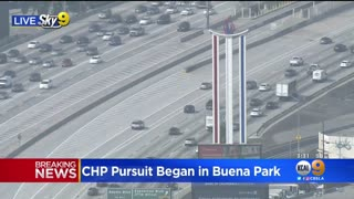 Police Pursuit ends with TWO perfect Pit Maneuvers