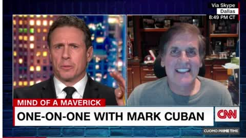 Lou Dobbs getting cancelled and Mark Cuban celebrates it