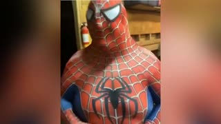 Spiderman after lockdown 😹😹