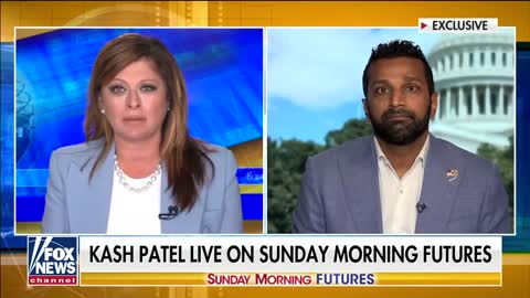 Kash Patel says FBI always knew Russian Collusion was Clinton Propaganda.