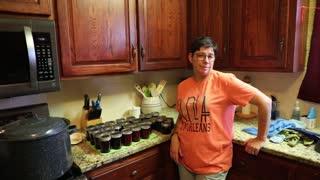 Making Homemade Grape Jelly
