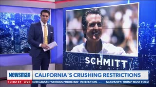 Newsmax Host Eviscerates Democratic Lockdowns for Destroying California