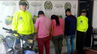 Entre los delitos están hurto, tráfico de estupefacientes y tentativa de homicidio.