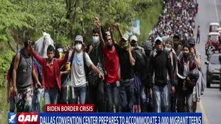 Dallas convention center prepares to accommodate 3K migrant teens