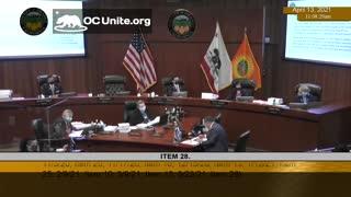 Vaccine Passports in Orange County California Speaker 6