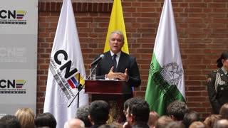 Iván Duque recibió oficialmente la credencial como Presidente de Colombia