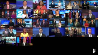 Watch! the media across US reading from the same script.