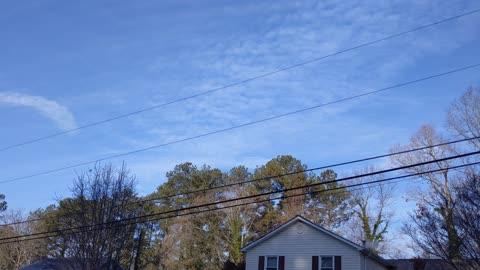Horseshoe Clouds over Atlanta