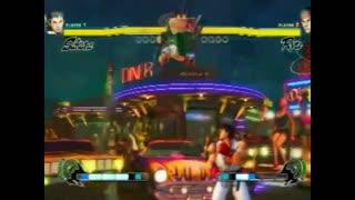 Street Fighter IV Sakura Combo Video