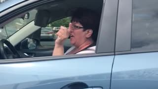 Driver Insults Videographer