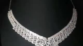 Diamond necklace speaks of luxury