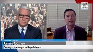 Comey urges election of Joe Biden