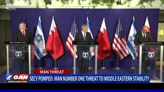Secy. Pompeo: Iran number one threat to Middle Eastern stability