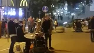 Street Music Riga