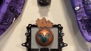 Purple Haunted Mansion Magic Band Scanner