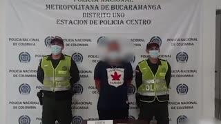 Capturan a la 'Morza' por homicidio en Bucaramanga
