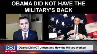 Obama Did Not Have The Military's Back