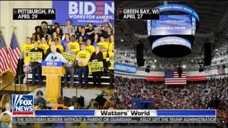 Watters mocks Joe Biden's motto