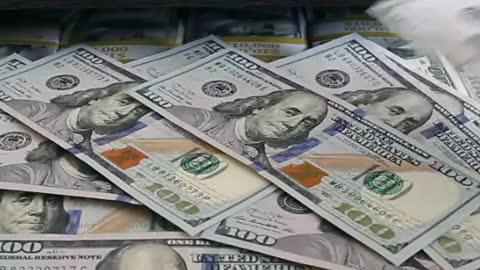 Happy with abundant money