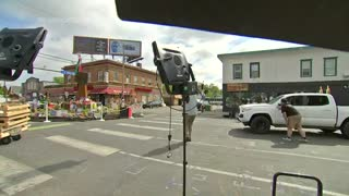 WATCH: Gunshots Interrupt AP Report from George Floyd Memorial Square