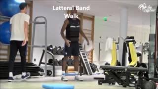 Football players workout motivation