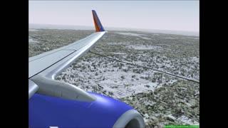 Landing in Chicago, IL.