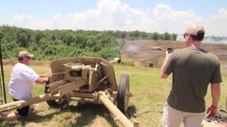 PAK 40 German 75mm anti tank gun