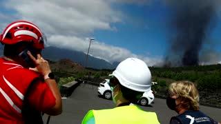 Volcano erupts on Spanish Canary Island of La Palma