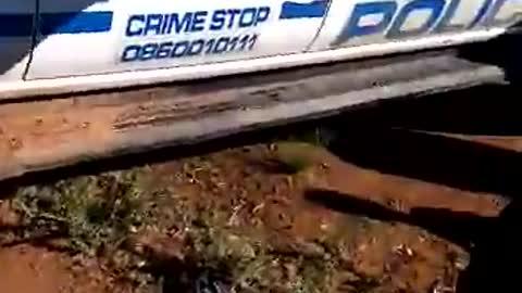 DRUNK COP IN SOUTH AFRICA