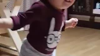 Dancing baby!