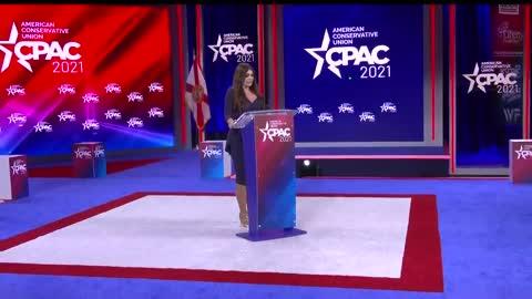 Kimberly Guilfoyle at CPAC 2021