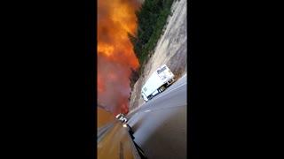 Delta Fire Escape in California