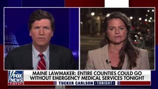 Maine State Senator Lisa Keim discusses the effect a vaccine mandate will have on paramedics