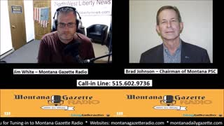 Montana Gazette Radio - Candidate for Congress Brad Johnson