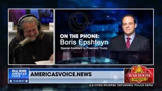 Epshteyn Says Rachel Maddow is Having 'Anna Karenina Moment' Over Freight Train of Election Audits