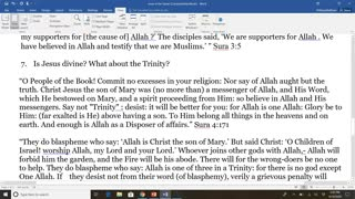 Muslim Jesus vs Christian Jesus