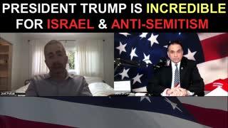 Joel Pollak Shares how President Trump is INCREDIBLE For Israel and Anti-Semitism