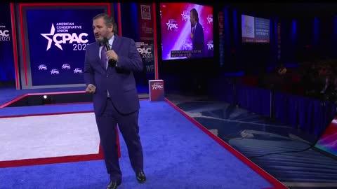 Senator Ted Cruz describes who makes up the Republican Party