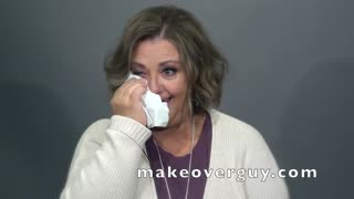 Everyone is Crying After the Reveal of Her MAKEOVERGUY® Makeover
