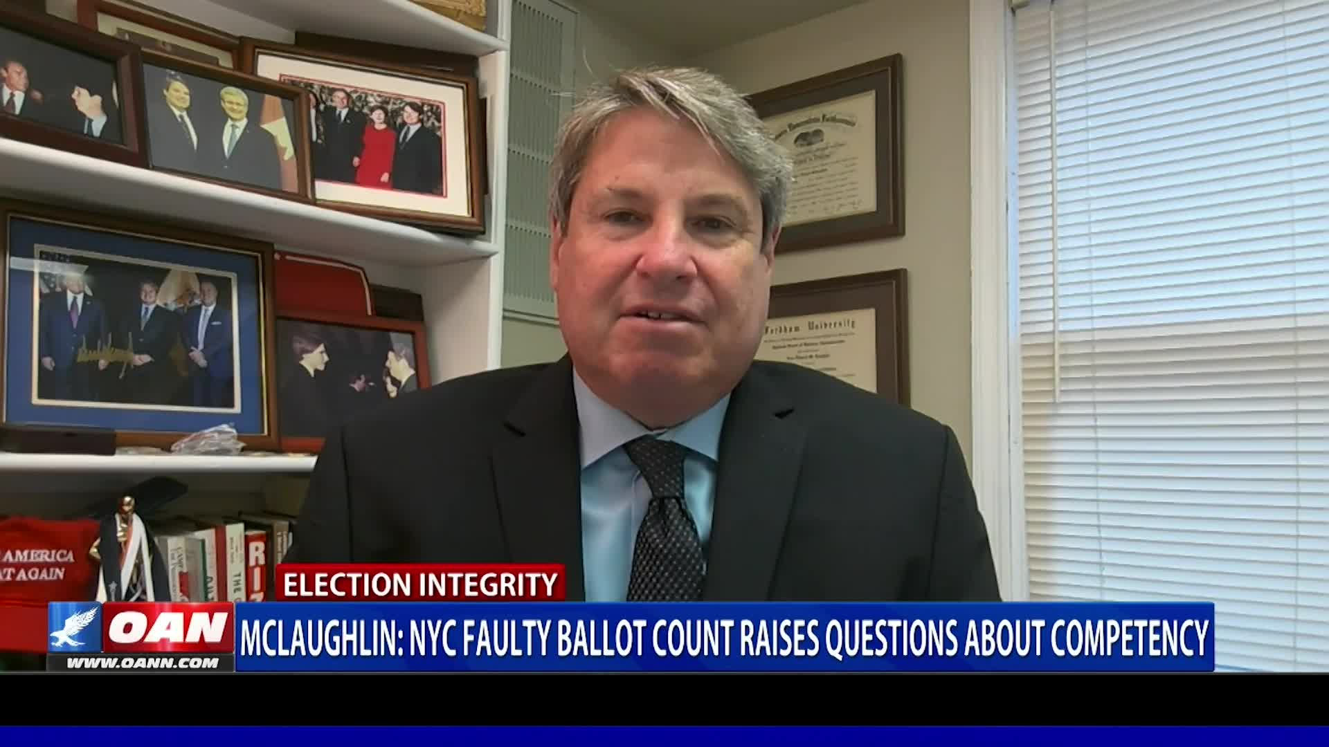 John McLaughlin: NYC faulty ballot count raises questions about competency