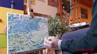 painting acrylic painting acryl peinture acrylfarbe tableau acryl