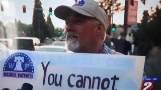 #cantcensorthesidewalk | Washoe Patriots | CBS interview